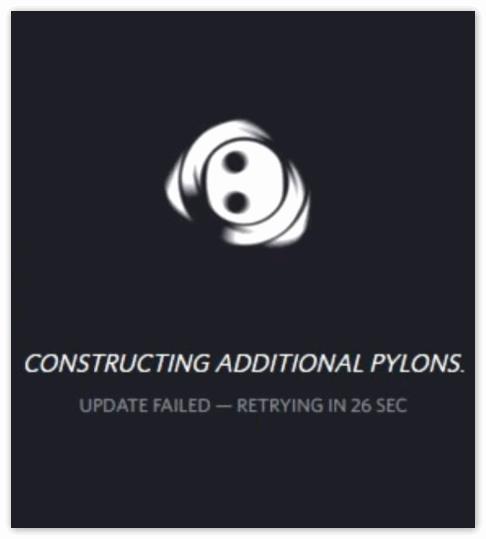 Ошибка Update failed в Дискорд