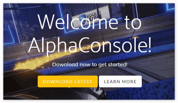 AlphaConsole для Дискорд