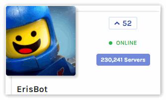 ErisBot Бот для Discord